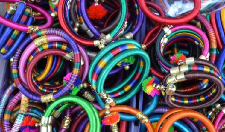 how to make thread bangles